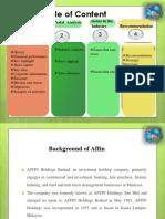Affin Presentation