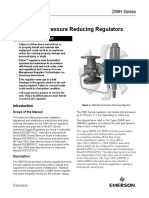299h Series Pressure Reducing Regulator Instruction Manual