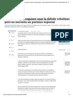Usar remolque requiere usar la debida señalización pero no necesita un permiso especial - Archivo Digital de Noticias de Colombia y el Mundo desde 1.990 - eltiempo