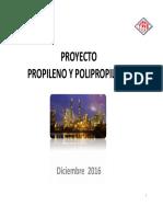 Presentacion Proyecto Propileno-Polipropileno - Sucre Actualizado 07-12-2016