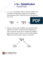 Basics Biblical Hebrew 03