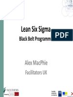 Lean Six Sigma Black Belt -Introduction to Minitab