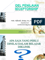 Model Penilaian Preceptorship 2014