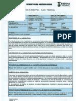 Sistemas Electricos 1 - Silabo - Presencial - Legalizado