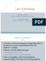Art of Debating 09