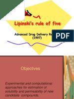 Lipinski Rule of Five