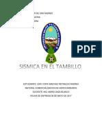 Sismica El Tambillo