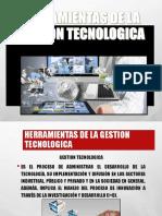 Herramientas de La Gestion Tecnologica Yosselin