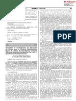 Aprueban el Cronograma de Ejecución de Obras para la Central Hidroeléctrica Rapaz II a favor de la Empresa Comunal Hidroeléctrica San Cristóbal De Paz S.A.C. y aprueban otras disposiciones