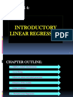Chapter 4 Regression