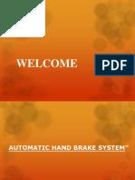 Hand Braking Systemm Ppt Zero r