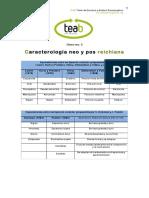 Clase 3 Caracterologia Neo y Posreichiana
