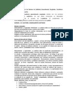 Investigue y analice las Normas de Auditoría Generalmente Aceptadas.docx