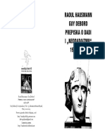 Raoul Hausmann Guy Debord Prepiska o Dadi