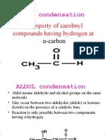 Aldol Condensation