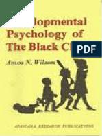 3 Developmental Psychology of the Black Child Amos Wilson PDF