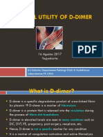 3. DrUsi_sysmex_Clinical Utility of D-dimer JOGLOSEMAR 2017