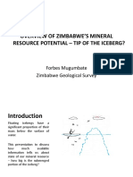 02 Mugumbate - Overview of Mineral Potential