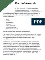 Standard Chart of Accounts | Sample COA • The Strategic CFO