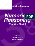 Psychometric Success Numerical Ability - Reasoning Practice Test 1.pdf
