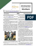 2018 First Quarter MintMark
