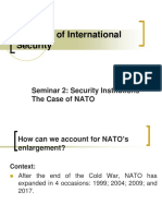 Seminar 2. Security Institutions - The Case of NATO.ppt