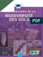 Atlas Européen de La Biodiversité Des Sols - Jeffrey & Al. - 2013