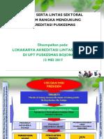 Lokakarya Akreditasi
