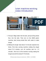SD25 Gluten Machine Manual