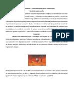 Caracterización y Tipología de Nuevos Productos Gabriela