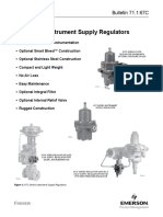 5 67C Series - Instrument Air Supply Regulators