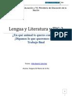 Trabajo de Lengua Especializacion Educacion y Tics