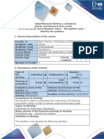 Activities guide and evaluation rubric - Recognition step - Identify  the problem.pdf