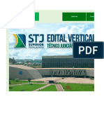 Edital Verticalizado - STJ - TJAA