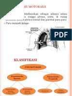 Bedsite Teaching Pneumotoraks