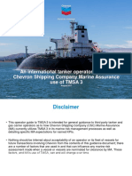 Operator Guide to Chevron Shipping Company Marine Assurance Use of TMSA 3