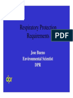 Respiratory Requiremnts