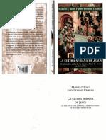 CROSSAN John, BORG Marcus - La última semana de Jesús (2007), Ed. PPC.pdf