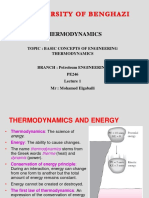 Basic Concepts of Thermodynamics (1)