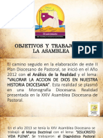1 Asamblea Diocesana Presentación-Padre-Ramon