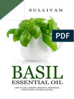 Basil Essential Oil - Ann Sullivan