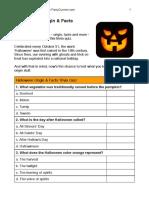 Halloween Origin Trivia