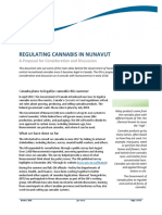 Regulating Cannabis in Nunavut