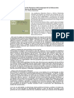 Entrevista a a. Paione y M. Rubalcaba Sobre Diseño Curricular EP