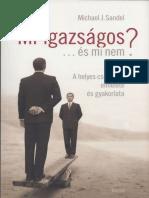 Michael J Sandel - Mi az igazságos és mi nem.pdf