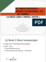 Uji Beda 2 Mean Dependen2x-1