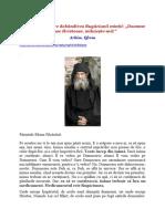 Învățătură Despre Dobândirea Rugăciunii Minții - Arhim. Efrem