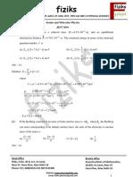 Atomic Molecular Physics Jest 20122016