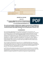 UPZ 65 Arborizadora Decreto 241 2005