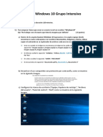Examen Windows 10